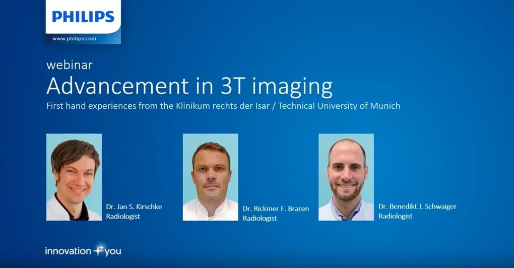 On demand webinar - Advancements in 3T imaging with the Technical University of Munich