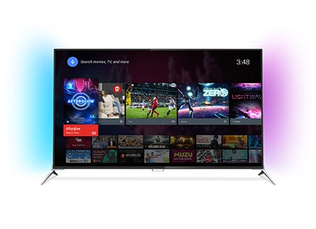Estante de aplicativos da Philips Smart TV - Loja Google Play