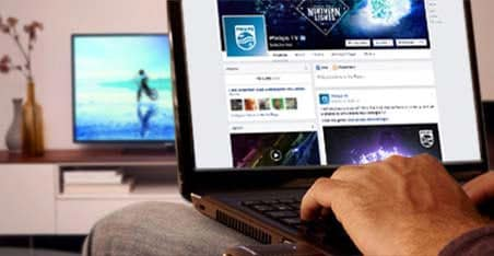 Philips TV Facebook