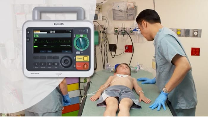 Introduction to the Efficia DFM100 monitor/defibrillator